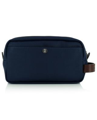 Nylon and grained leather toiletry bag BRUNELLO CUCINELLI