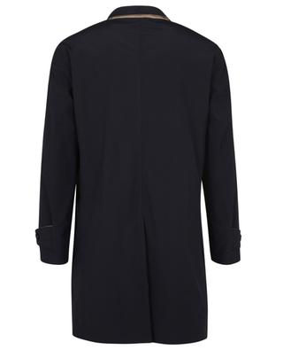 Reversible rain coat in water-repellent microfibre BRUNELLO CUCINELLI