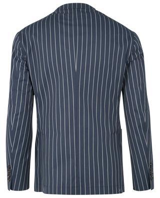 Gestreifter Anzug aus Stretch-Baumwolle BRUNELLO CUCINELLI