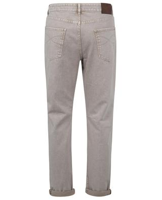 Leisure Fit casual beige jeans BRUNELLO CUCINELLI