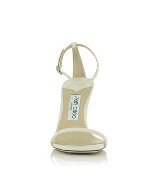 Sandalen aus Glattleder mit Absatz Marin 90 JIMMY CHOO