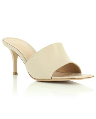 Nappa leather heeled mules GIANVITO ROSSI