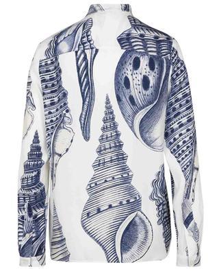 Eva seashell print silk blouse STELLA MCCARTNEY