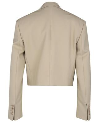Adley cropped grain de poudre wool blazer STELLA MCCARTNEY