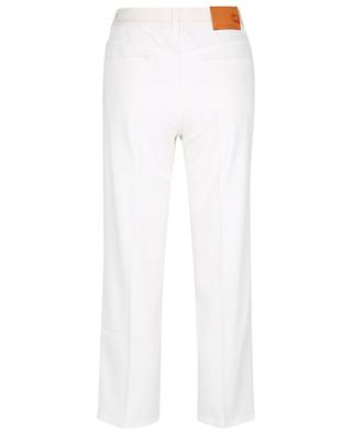 Gerade Jeans mit verkürztem Bein Logo Story On White STELLA MCCARTNEY