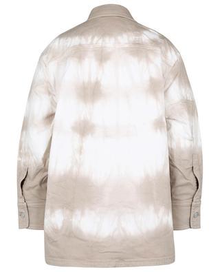 Bamboo Safari tie-dye denim oversize shirt jacket STELLA MCCARTNEY