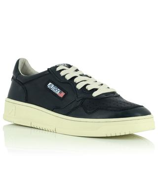 Medalist black low top sneakers in smooth leather AUTRY
