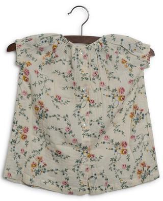 Robe bébé imprimée fleurs en coton Colombe BONTON