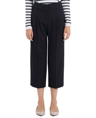 Pantalon large raccourci en crêpe SEDUCTIVE