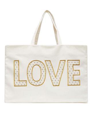 Love large girls' tote bag BONTON