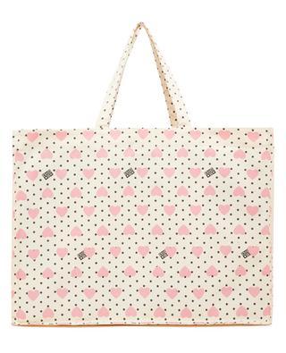 Grosser Shopper für Mädchen aus Segeltuch Heart Maxi BONTON