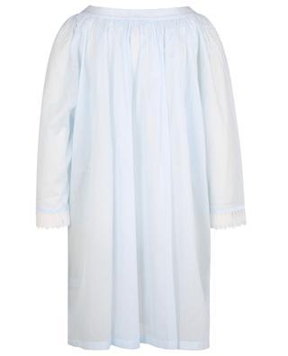 Nachthemd aus Baumwoll-Voile und Spitze Amina 2 CELESTINE