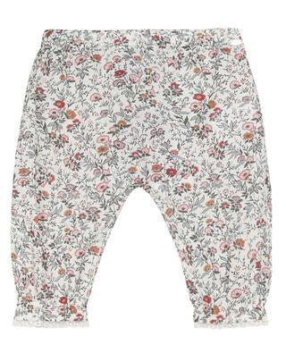 Pantalon bébé imprimé magnolia Madras TARTINE ET CHOCOLAT