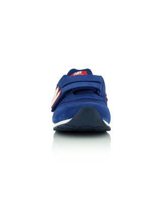 Kinder-Sneakers aus Mesh und Wildleder mit Klettverschluss 373 NEW BALANCE