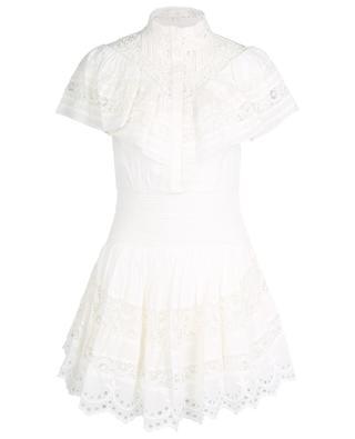 Mini robe en coton et dentelle Clay LOVESHACKFANCY