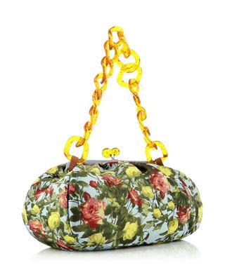 Handtasche aus geblümtem Brokat Pasticcino Ugola Large WEEKEND MAX MARA