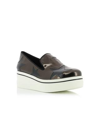 Faux leather sneakers with stars STELLA MCCARTNEY