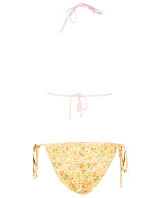 Bikini triangle imprimé fleurs Harbor LOVESHACKFANCY