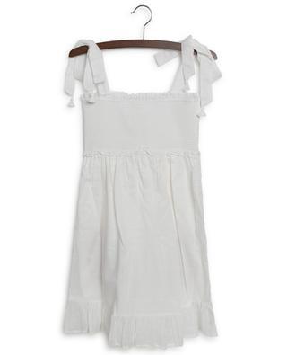 Poppy embroided girls' dress in cotton ZIMMERMANN