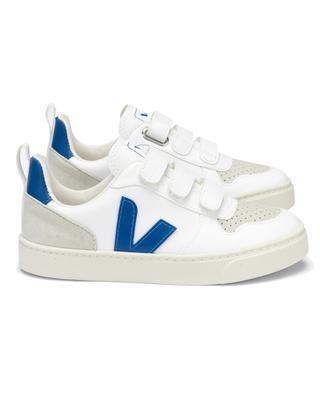 Jungen-Sneakers mit Klettverschluss V-10 VEJA