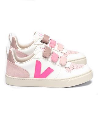 V-10 girls' sneakers with Velcro fastening VEJA