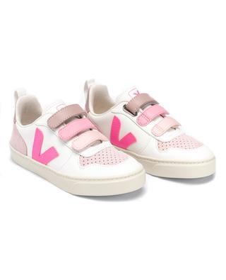 Mädchen-Sneakers mit Klettverschluss V-10 VEJA