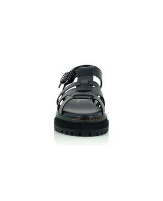 Flache Sandalen aus Leder mit dicker Sohle Birdie KURT GEIGER LONDON
