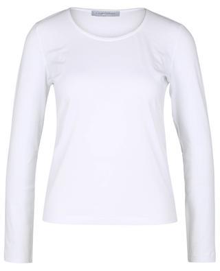 T-shirt à manches longues col lurex GRAN SASSO