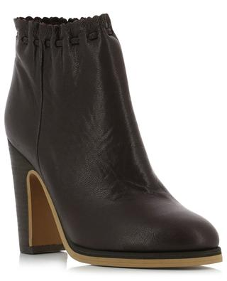 Jane leather ankle boots SEE BY CHLOE