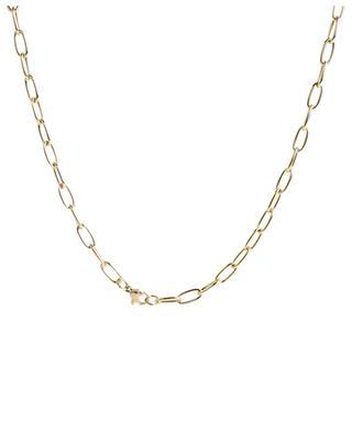 Collier doré avec pendentif cadenas MOON°C PARIS