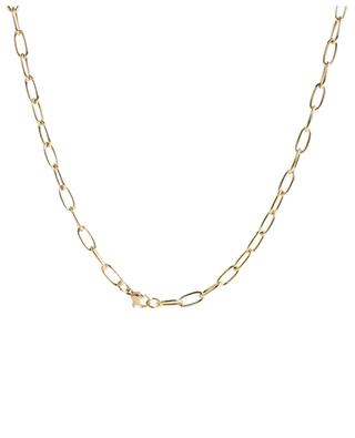 Gold-plated necklace with padlock pendant MOON°C PARIS