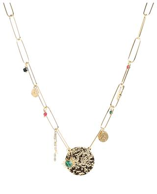 Stainless steel necklace with pendants MOON°C PARIS