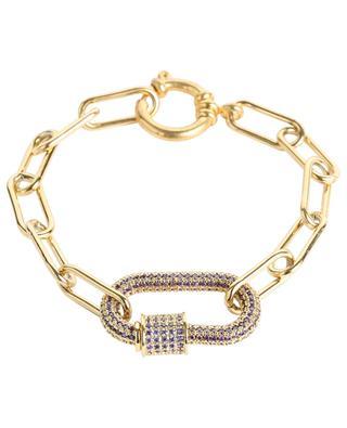 Bracelet chaîne à cadenas MOON°C PARIS
