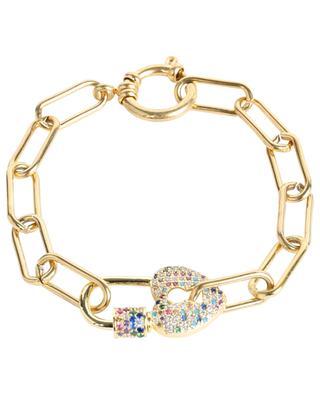 Bracelet with heart padlock MOON°C PARIS