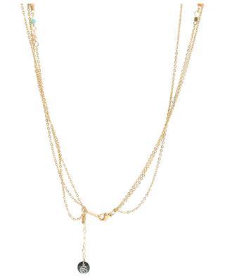 Multi strand beaded necklace MOON°C PARIS