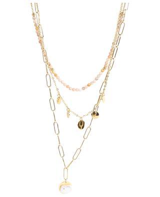 Long multi-strand necklace MOON°C PARIS