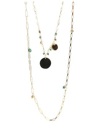 Long necklace with gemstones MOON°C PARIS