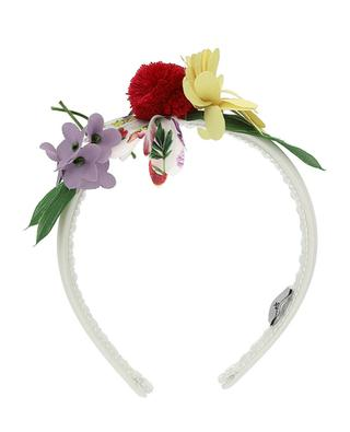 Serre-tête fille embelli de fleurs Fiori MONNALISA