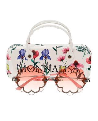 Mädchen-Sonnenbrille Occhiali Flowers MONNALISA