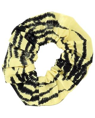 Chouchou imprimé tigre Pale Banana GANNI