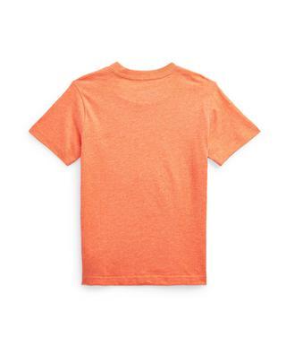 T-shirt à col rond garçon brodé Pony POLO RALPH LAUREN