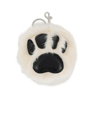 Paw faux-fur keychain STELLA MCCARTNEY