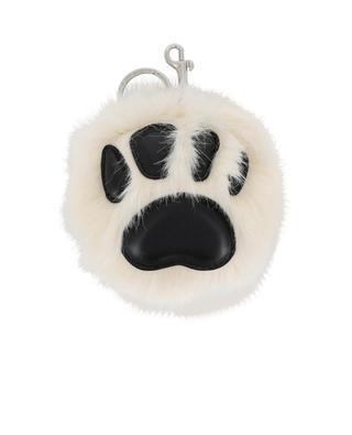 Paw faux-fur keychain STELLA MCCARTNEY
