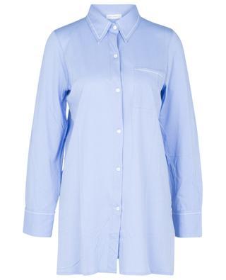 Chemise de nuit en coton BLUE LEMON