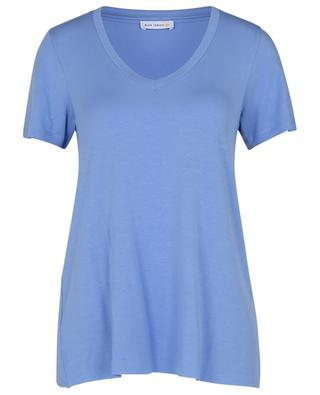 T-shirt en micro modal Urban V Neck BLUE LEMON