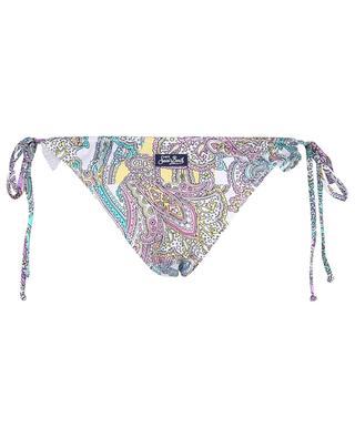 Bas de bikini triangle à volants Hanne Patchpaisley MC2 SAINT BARTH