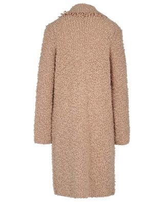 Lightweight plush effect knit coat MARC CAIN