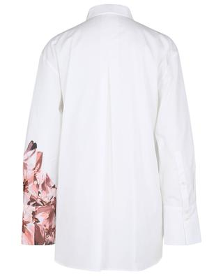Flower printed poplin shirt MARC CAIN