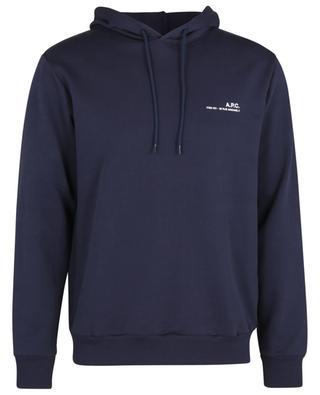 Sweat-shirt à capuche imprimé ITEM 001 A.P.C.