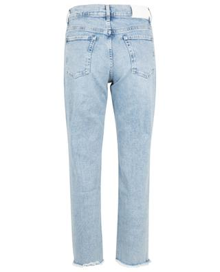 The Modern Straight Looker frayed jeans 7 FOR ALL MANKIND